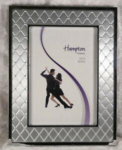 "Genuine silver plated framed hampton frame 5"" X 7"" 13cm x 18cm"