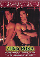 Zona Rosa RARE OOP gay interest DVD Mexico City Pink Zone & Its Dancers LiNu f/s