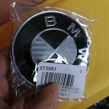 For  BMW Car Emblem Chrome Front Badge Logo 82mm 2 Pins For BMW Hood/Trunk