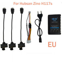 Charging3 Cable Adapter For Hubsan Zino H117S Quadcopter Battery B3 Charger EU
