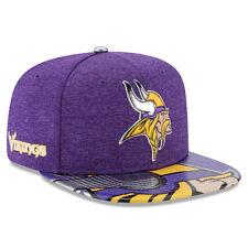 Minnesota Vikings New Era 9FIFTY 2017 NFL Draft On Stage Snapback Cap Hat 950