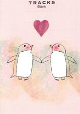 Penguin Love Blank Greeting Card Fun Tracks Any Occasion Greetings Cards