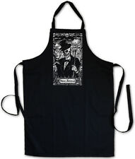 Baron Samedi I Bbq Cooking Kitchen Apron Black Voodoo Bawon Haiti Samdi Magic