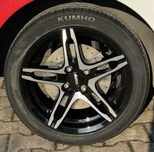 Summer Wheels Alloy ALUTEC Poison Complete Nexen Smart Fortwo Forfour 453