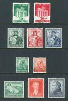 Bizone Michel-Nr. 101-110 * Originalgummierung