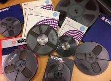 """Reel to Reel - Nastro analogico 7""""/18cm - 1/4 Inches Tape BASF/EMTEC o ZONAL"""