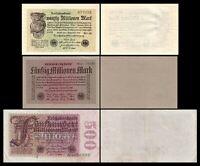 20 - 500 Millionen Mark - Reichsbanknoten 01.09.1923 - 6. Ausgabe - Reproduktion