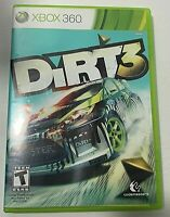 DiRT 3  Microsoft Xbox 360  2011  Complete