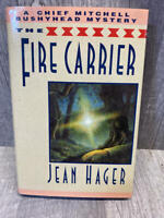Fire Carrier by Jean Hager HardCover/DJ SIGNED 1st Edition 1st Print VERY RARE