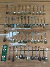 Vintage souvenir spoon spoons world wide lot Collection