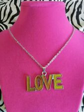 """SALE Silver Mood Changing """"LOVE""""  Necklace 😍"""