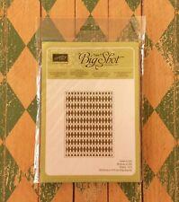 Stampin Up Embossing Folder Argyle Pattern Textured Impressions Sizzix Big Shot