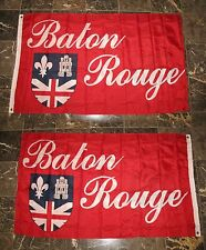 3x5 Baton Rouge 2 Faced 2-ply Wind Resistant Flag 3x5ft