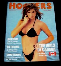 2 #46 HOOTERS MAGAZINE Swimsuit Models 2002 Sexy Pin Up Uniform UNCIRCULATED