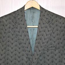 vtg '70s Rockabilly Western Sport Coat Sz 42R Blazer Union Made USA