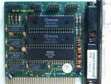 ISA 8 BIT Serial, Parallel Port, Game port Controller Card  VINTAGE COMPUTER PC