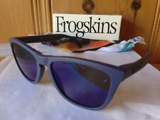 NEW Oakley - Limited Edition Frogskins - Artesian Blue / Blue Iridium, 24-345