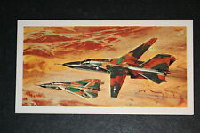 General Dynamics F111 Bomber      Illustrated  Card  VGC