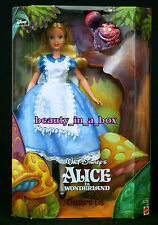 """Alice in Wonderland Doll and the Cheshire Cat """"Treasure Hunt"""" Disney Collector """""""