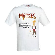 "T-Shirt ""Guybrush Threepwood"" Monkey Island, scegli la tua taglia"