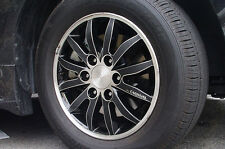 Left Right Carbon Tuning Wheel Sticker 17'' 1Set For Kia Sedona : G Carnival