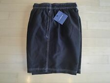 6eaaedb83d Croft&Barrow Men's Black Swimming Trunks With Pockets Small $30