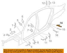 BMW OEM 17-18 530i Floor-REAR BODY-Upper Extension Right 41007431634