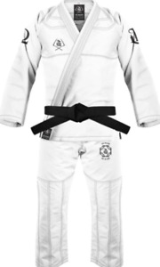 War Tribe Brazilian Jiu Jitsu - Women's Reaper Gi (White) - NEW