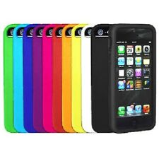 UK SOFT SILICONE RUBBER CASE COVER SKIN PROTECTOR GEL FOR IPHONE 5/5S/SE UK POST