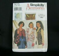 Panel Top Vest Sz Xs Xxl Kayla Kennington Modular Wearable Art Sew Pattern Uncut Ebay