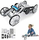 WomToy 4WD Car Assembly Kit, Four-Wheel Drive DIY Climbing Vehicle Electric Kids