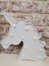 Unicorn Head LED light / marquee light , can be wall hung