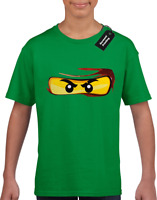 Youth T-shirt Ninjago Lloyd Customized Name Age Birthday Boy Infant Toddler