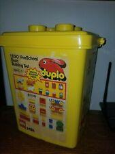 Vintage 1987 LEGO Duplo BASIC BUILDING SET #2426 Original YELLOW Bucket FARM