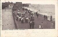 Rockaway, NEW YORK CITY - Holland Station - Boardwalk - 1906 - Queens