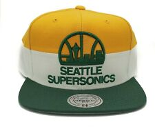 Mitchell & Ness Seattle Supersonics Rock It Vintage Adjustable Snapback Cap