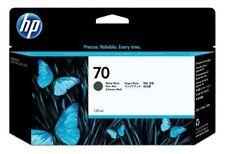 ORIGINAL TINTA HP Designjet Z2100 Z3100 Z3200 Z5200 C9448A NR. 70 Mate BLACK INK
