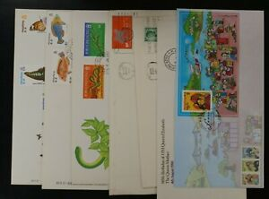 Hong Kong lot of 7 different cover + FDC's (k098).
