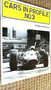 CARS IN PROFILE #3: F1 REPCO-BRABHAMS / Doug Nye (1972)