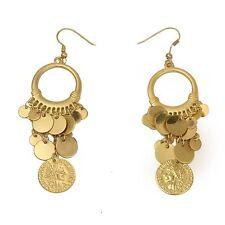 Pair of the 300 TM Spartan Queen Gorgo Coin Earrings