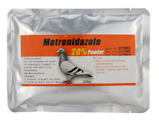 Pigeon Product - Metronidazole 20% - Canker - 250g powder