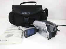 Sony DCR-DVD92 DVD Handycam Camcorder w/20x Optical Zoom Night Shot Plus 800x DZ
