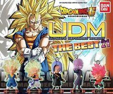 Dragon Ball SUPER Keychain - 2017 Bandai Gashapon UDM THE BEST 21 ~ Set of 5 ~