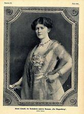Emmi Lewald Schriftstellerin und Frauenrechtlerin Historische Aufnahme von 1910