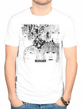 Official The Beatles Revolver Album Cover T-Shirt Lennon McCartney Lonely Hearts