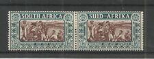 SOUTH AFRICA 1938 VOORTREKKER 1.1/2d + 1.1/2d  PAIR SG,78 M/M LOT 6993A