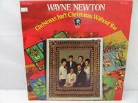 Wayne Newton Christmas Isn't Christmas Without You LP Record Album Vinyl