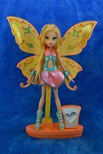 Winx Club Mattel Rare doll Sing & Sparkle Stella enchantix glam Rainbow WORKS