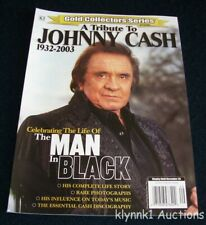 Johnny Cash Tribute Magazine Gold Collectors Series The Man in Black rare photos