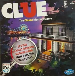 Clue - The Classic Mystery Game by Hasbro Gaming